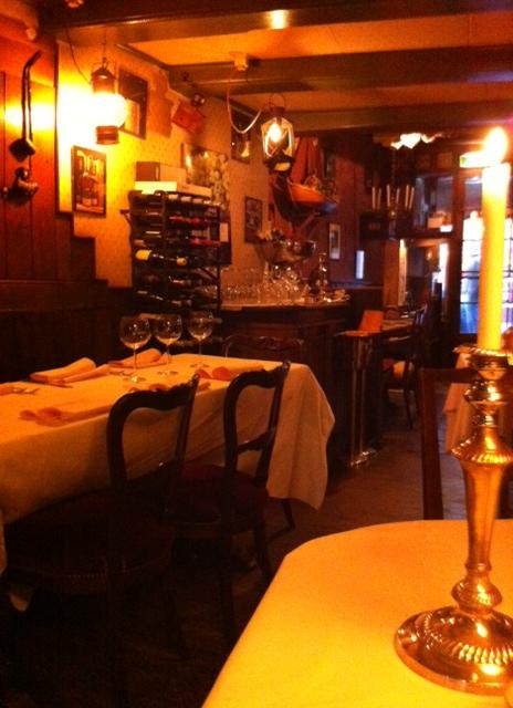 O restaurante só para a gente!
